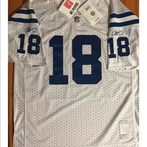 Peyton Manning 18 Indianapolis Colts RBK Jersey